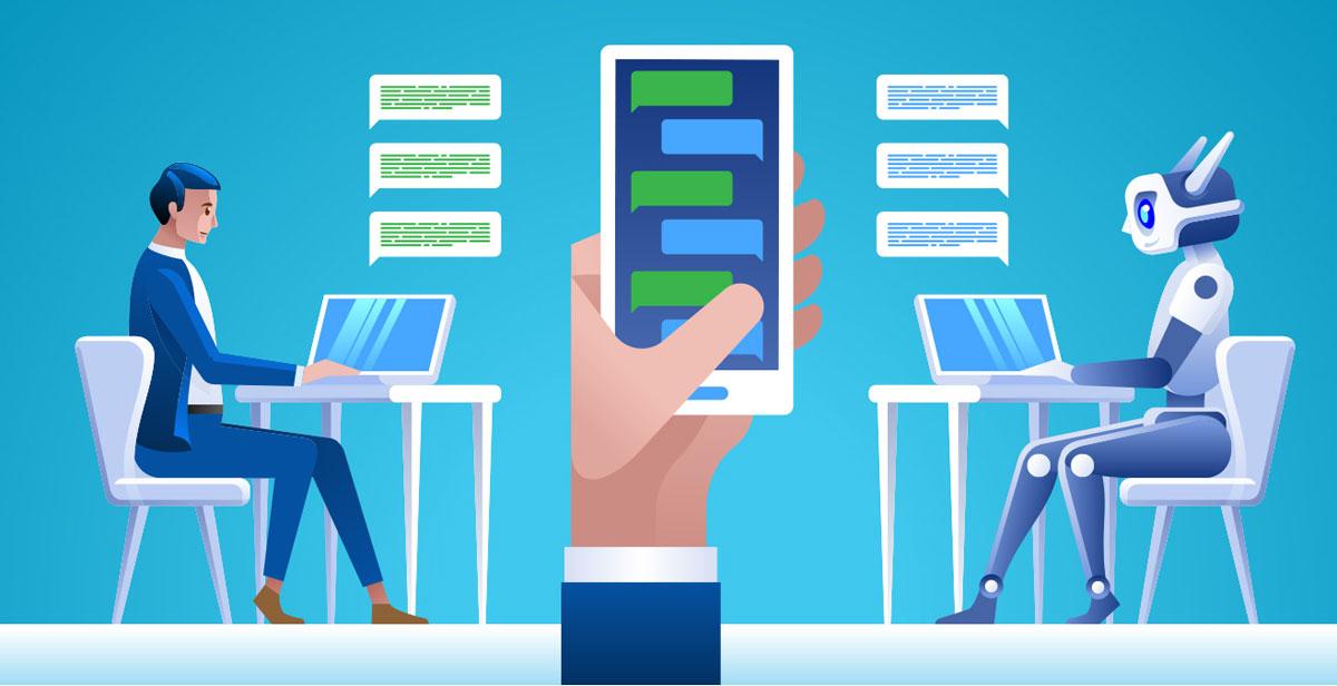 interazione chatbot utente